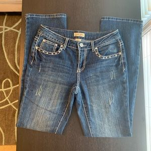 Distressed Earl Jeans Size 4